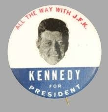 JFK Campaign Button