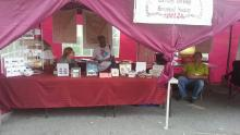 CTHS Booth at Community Days